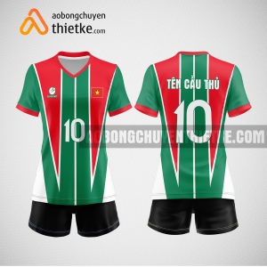 Mẫu áo bóng chuyền thiết kế ngân hàng BAOVIETBANK BCN153 nữ