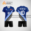 Mẫu áo bóng chuyền thiết kế ngân hàng BVB BCN154 nam