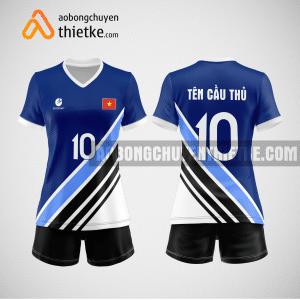 Mẫu áo bóng chuyền thiết kế ngân hàng BVB BCN154 nữ