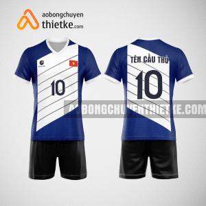 Mẫu áo bóng chuyền thiết kế ngân hàng MSB BCN127 nam
