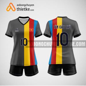 Mẫu áo bóng chuyền thiết kế ngân hàng National Citizen Bank BCN132 nữ