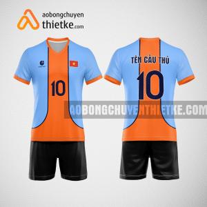 Mẫu áo bóng chuyền thiết kế ngân hàng Petrolimex Group Bank BCN156 nam