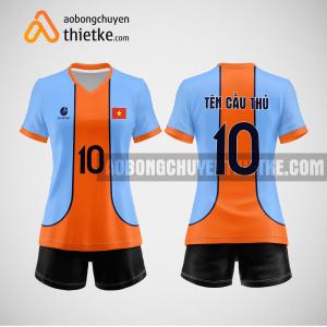 Mẫu áo bóng chuyền thiết kế ngân hàng Petrolimex Group Bank BCN156 nữ