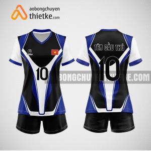 Mẫu áo bóng chuyền thiết kế ngân hàng SCB BCN144 nữ