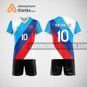 Mẫu áo bóng chuyền thiết kế ngân hàng SHB BCN150 nam