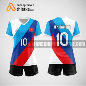 Mẫu áo bóng chuyền thiết kế ngân hàng SHB BCN150 nữ