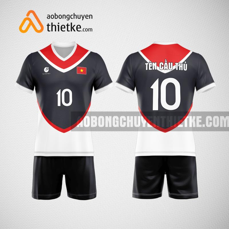 Mẫu áo bóng chuyền thiết kế ngân hàng Sacombank BCN149 nam