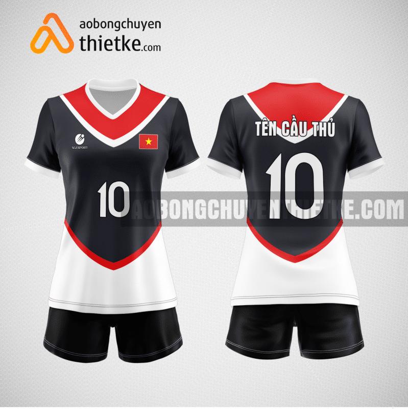 Mẫu áo bóng chuyền thiết kế ngân hàng Sacombank BCN149 nữ