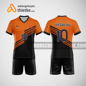 Mẫu áo bóng chuyền thiết kế ngân hàng TCB BCN129 nam