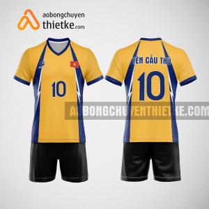 Mẫu áo bóng chuyền thiết kế ngân hàng VIBBank BCN141 nam