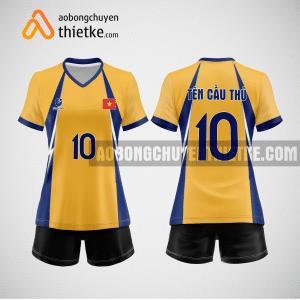 Mẫu áo bóng chuyền thiết kế ngân hàng VIBBank BCN141 nữ