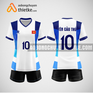 Mẫu áo bóng chuyền thiết kế ngân hàng VIET A Bank BCN151 nữ