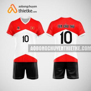 Mẫu áo bóng chuyền thiết kế ngân hàng Viettinbank BCN164 nam