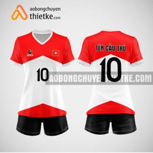 Mẫu áo bóng chuyền thiết kế ngân hàng Viettinbank BCN164 nữ