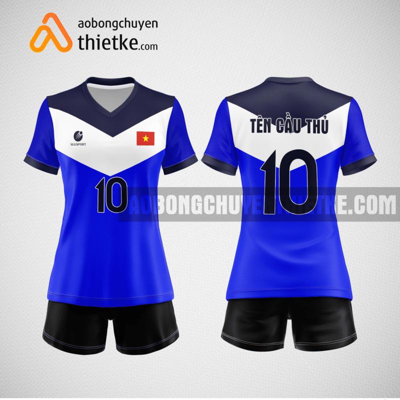 Mẫu áo bóng chuyền thiết kế ngân hàng sea bank BCN123 nữ