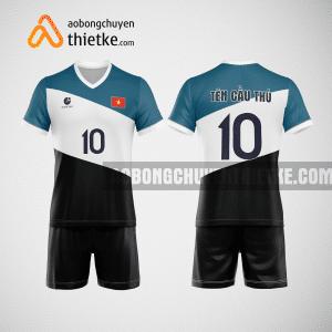 Mẫu áo bóng chuyền thiết kế ngân hàng techcombank BCN128 nam