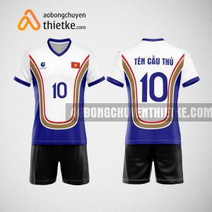 Mẫu áo bóng chuyền thiết kế ngân hàng vietbank BCN155 nam