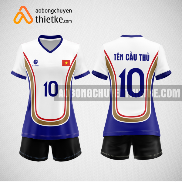 Mẫu áo bóng chuyền thiết kế ngân hàng vietbank BCN155 nữ
