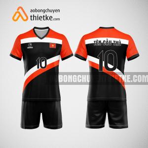 Mẫu áo bóng chuyền thiết kế ngân hàng vietcombank BCN162 nam