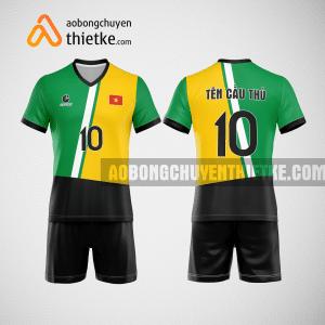 Mẫu áo bóng chuyền thiết kế trường đại học sư phạm hà nội BCN166 nam