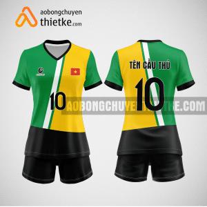 Mẫu áo bóng chuyền thiết kế trường đại học sư phạm hà nội BCN166 nữ