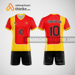 Mẫu áo bóng chuyền thiết kế trường sư phạm thể dục thể thao tphcm BCN169 nam