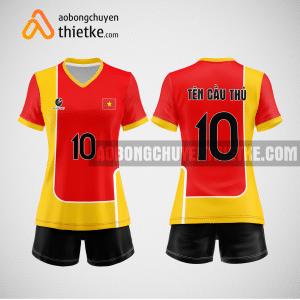 Mẫu áo bóng chuyền thiết kế trường sư phạm thể dục thể thao tphcm BCN169 nữ