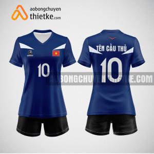 Mẫu quần áo bóng chuyền thiết kế sinh viên học viện tài chính BCTK302
