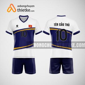 Mẫu quần áo bóng chuyền thiết kế tại hà tĩnh giá rẻ BCTK69 nam
