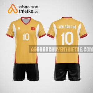 Mẫu quần áo bóng chuyền thiết kế tại hải dương giá rẻ BCTK70 nam