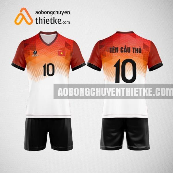 Mẫu quần áo bóng chuyền thiết kế tại hậu giang giá rẻ BCTK200