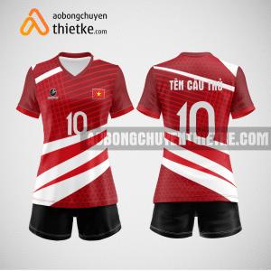 Mẫu quần áo bóng chuyền thiết kế tại huyện sóc sơn giá rẻ BCTK289 nữ