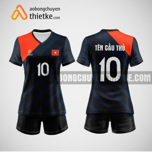 Mẫu quần áo bóng chuyền thiết kế tại khánh hòa giá rẻ BCTK203 nữ