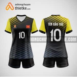 Mẫu quần áo bóng chuyền thiết kế tại long an giá rẻ BCTK210 nữ