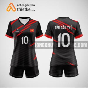 Mẫu quần áo bóng chuyền thiết kế tại quận 11 giá rẻ BCTK251 nữ
