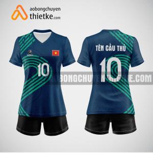 Mẫu quần áo bóng chuyền thiết kế tại quận bình tân giá rẻ BCTK253 nữ