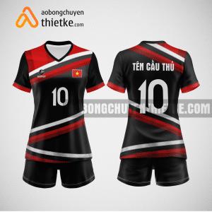 Mẫu quần áo bóng chuyền thiết kế tại quận long biên giá rẻ BCTK273 nữ