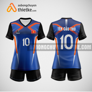 Mẫu quần áo bóng chuyền thiết kế tại tphcm giá rẻ BCTK239 nữ