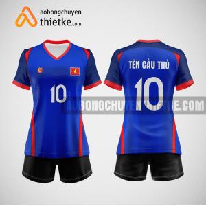Mẫu quần áo bóng chuyền thiết kế tại vĩnh phúc giá rẻ BCTK232 nữ