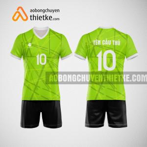 Mẫu áo thi đấu bóng chuyền đẹp màu xanh chuối BCN485 nam