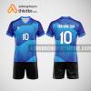 Mẫu áo thi đấu bóng chuyền đẹp màu xanh dương BCN492 nam