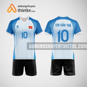 Mẫu quần áo bóng chuyền màu xanh da trời đẹp BCN498 nam