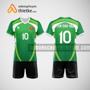 Mẫu quần áo bóng chuyền màu xanh lá cây 2023 BCN501 nam