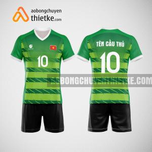 Mẫu quần áo bóng chuyền màu xanh lá cây mới nhất BCN500 nam