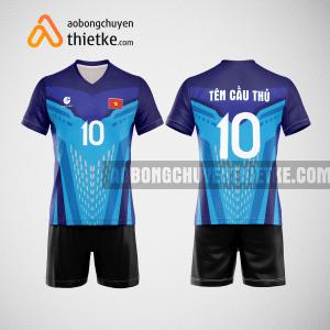 Mẫu quần áo bóng chuyền thi đấu màu xanh dương mới nhất BCN506 nam