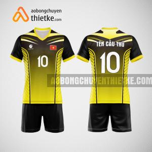 Mẫu quần áo bóng chuyền thi đấu vàng mới nhất BCN508 nam
