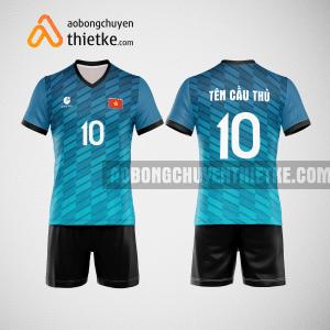 Mẫu quần áo đội tuyển bóng chuyền màu xanh ngọc mới nhất BCN511 nam