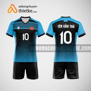 Mẫu quần áo thi đấu bóng chuyền 2022 màu xanh dương BCN496 nam